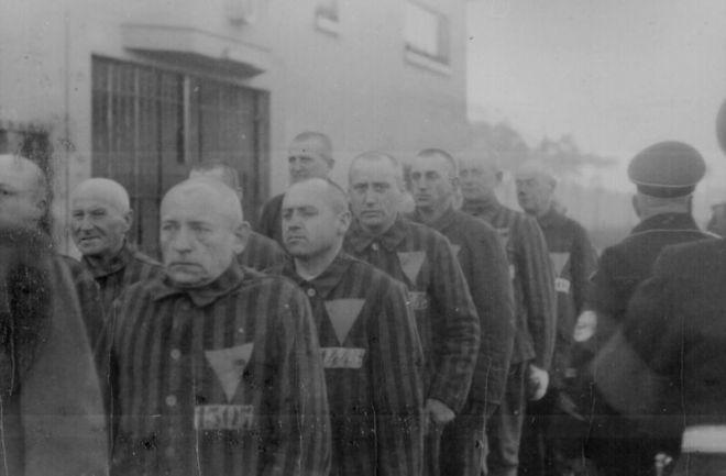 Prisoners in Sachsenhausen