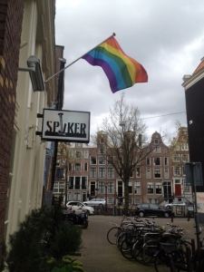 Amsterdam Rainbow Flag