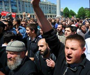 Anti-LGBT in Tbilisi