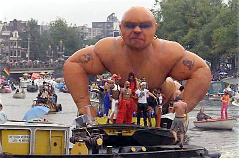 Canal Parade during Gay Games '98