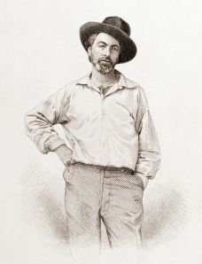 Whitman engraving 1854